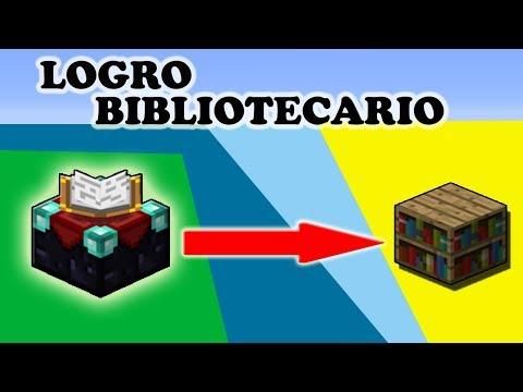 Logro Bibliotecario Minecraft | V1.12.0