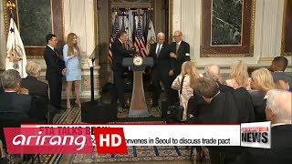 South Korea, U.S. convene joint session in Seoul for possible amendments to FTA