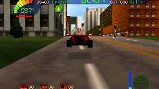 Carmageddon 64 Gameplay