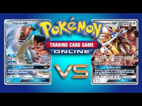 Lapras GX vs Solgaleo GX / Metagross GX - Pokemon TCG Online Gameplay