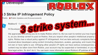 ROBLOX JUST GOT REALLY STRICT WITH COPYRIGHT...