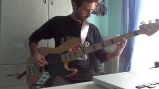 Bauhaus - Kick in the Eye  Bass Cover