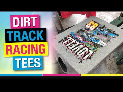 How To Screen Print 6 Color Spot Simulated Process On Tee Shirts