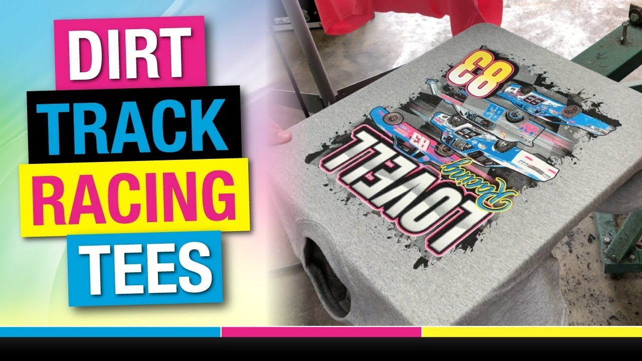 b97eeffa How to Screen Print 6 Color Spot Simulated Process on Tee Shirts ...