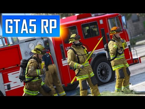 GTA 5 RP : Multijoueurs Fire Department [SADOJ]