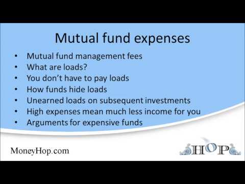 Mutual fund expenses