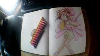 Cardcaptor Sakura Drawing Timelapse