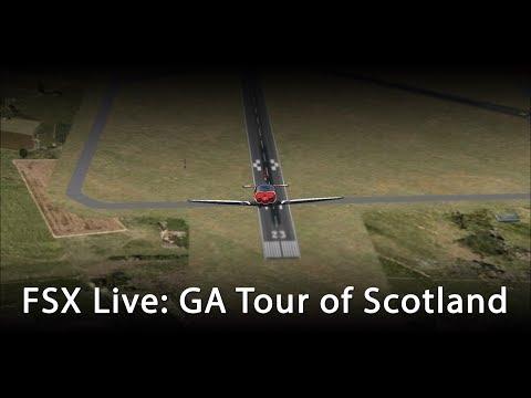 FSX Live: 25K Celebration! Tour of Scotland
