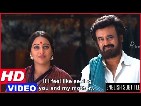 Lingaa Tamil Movie Scenes HD | Rajinikanth Refuses To Go To His Village | Sonakshi Sinha | AR Rahman