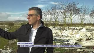 Environnement : une décharge sauvage de 25 hectares à Carrières-sous-Poissy