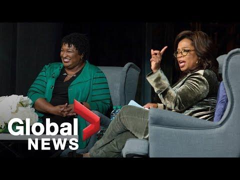 Oprah Winfrey campaigns