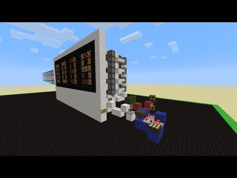 Koala does Redstone - Compact Minecraft Day Counter