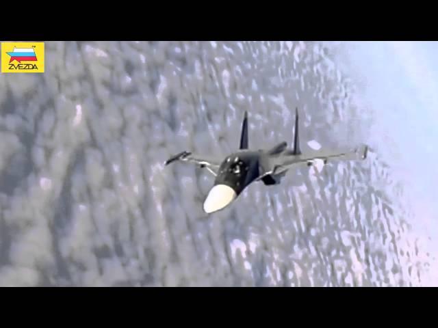 Презентация модели  Су-34 в 72 масштабе - Звезда