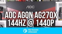 AOC Agon AG271QX Monitor - 144Hz of Buttery Goodness @ 1440p