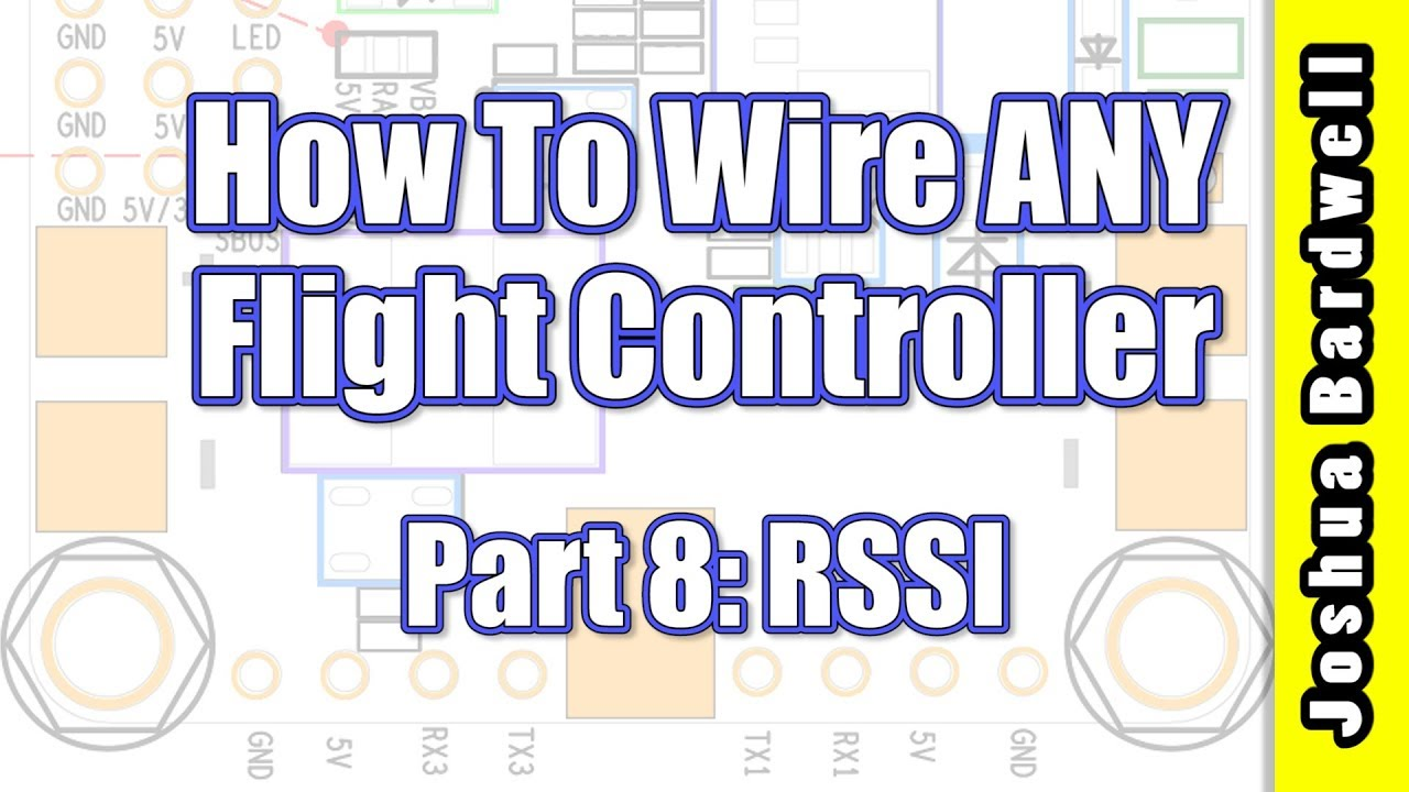 medium resolution of flight controller wiring for beginners part 8 rssi