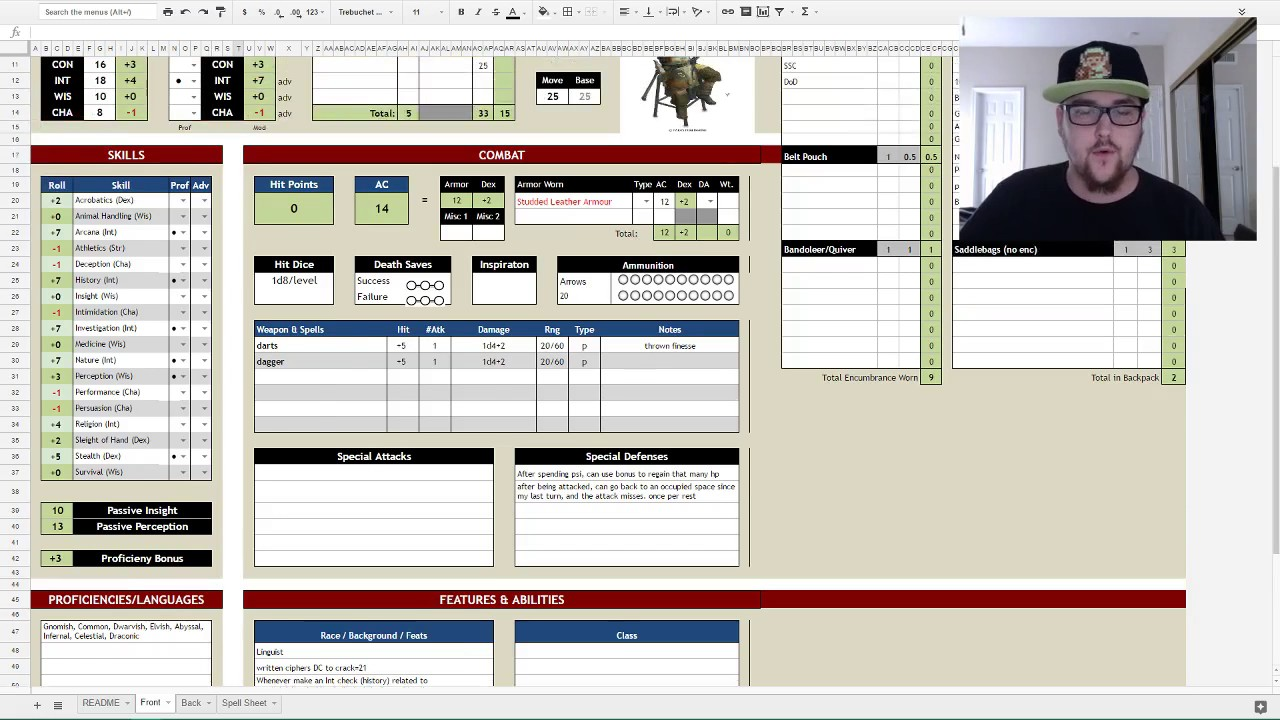 forged anvil 5e character generator excel