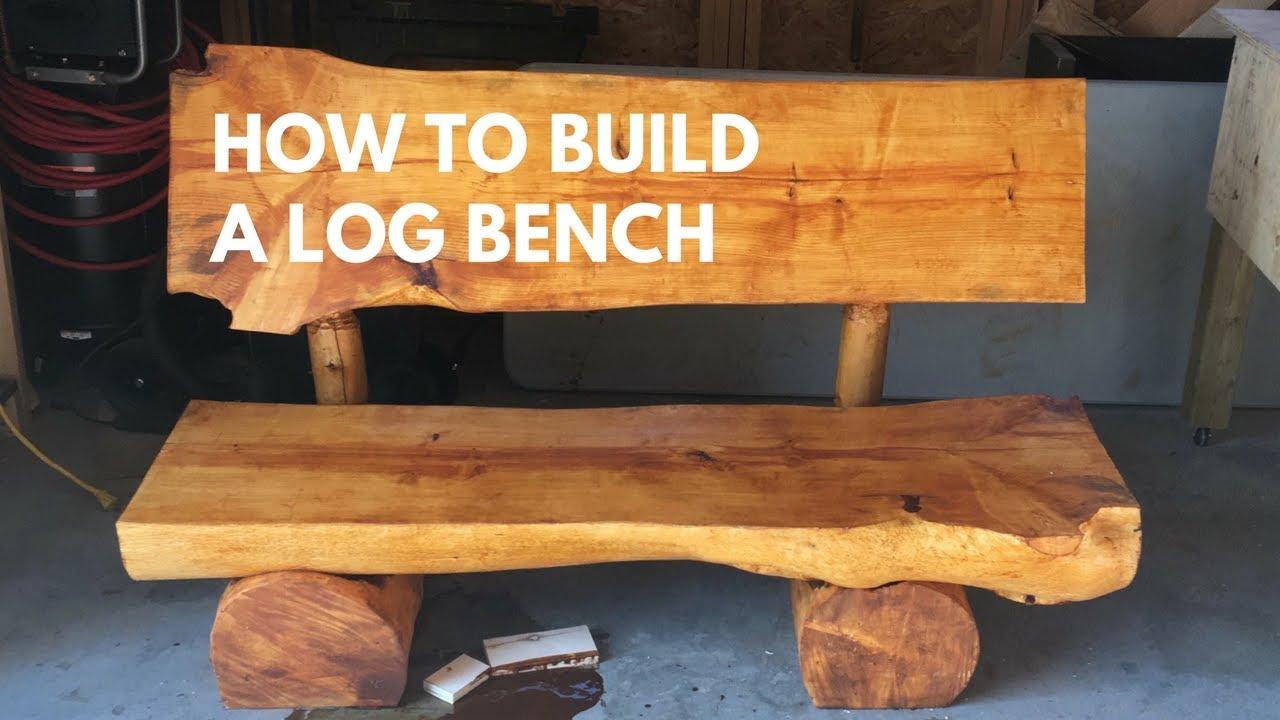 Brusilna sredstva viski Palica homemade log and plank bench - mcplayrec.org