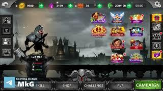 Stickman Legends Shadow Offline Fighting Games DB v2.4.91 Mod (Free Shopping + One hit) screenshot 4