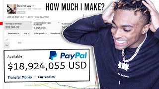 HOW MUCH MONEY I MAKE FROM YOUTUBE *last 30 days* EXPOSED