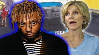 Mom Reacts To Juice Wrld Lean Wit Me, Scared Of Love, & Candles!