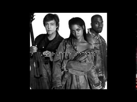 Rihanna Four Five Seconds ft Kanye West Paul McCartney #R8 (Official Song)