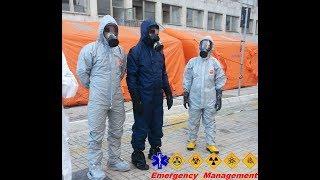 CBRNe - esercitazione PEIMAF decontaminazione pazienti ospedale Gemelli - Roma
