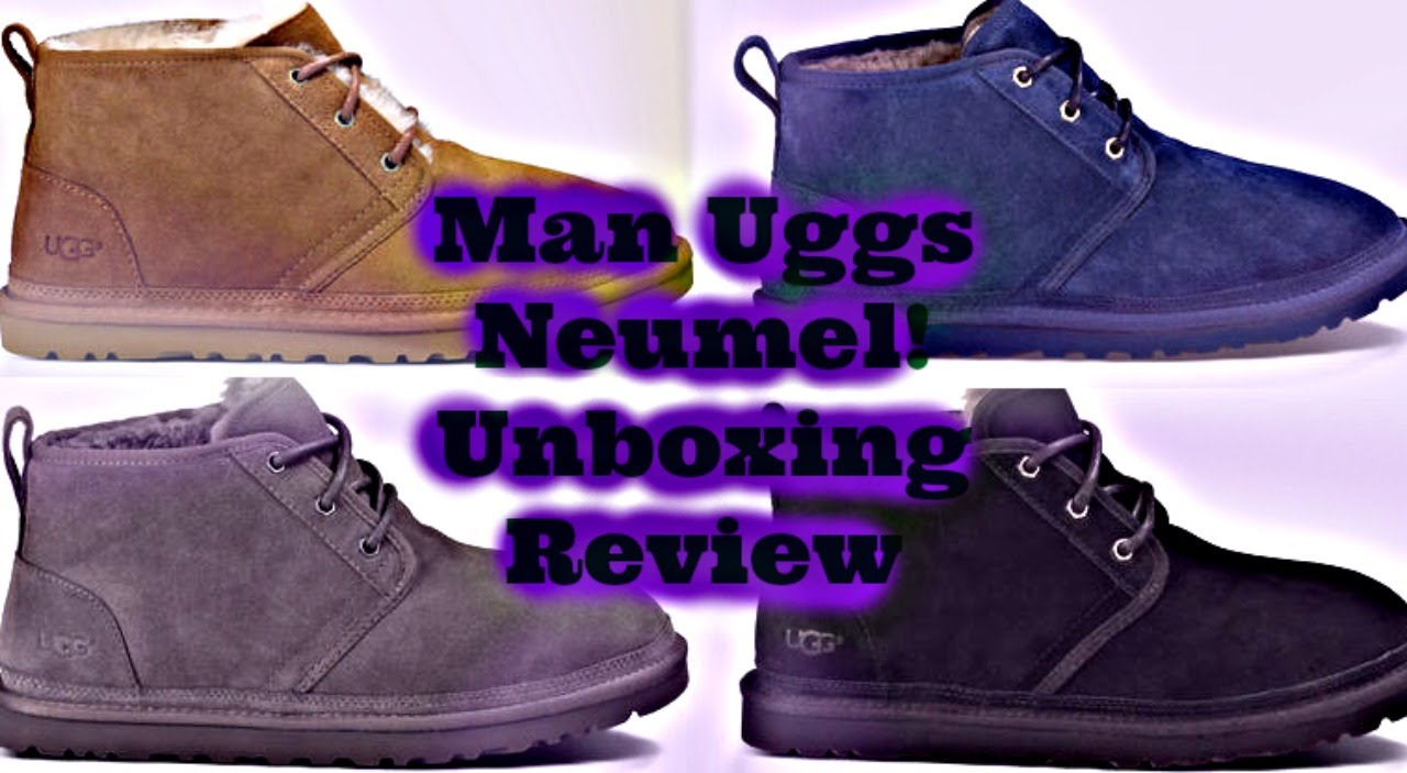 Men Uggs Neumel By Ugg Unboxing Review 👞👞 Youtube