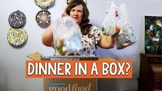 MEAL KIT delivery service - UNBOXING my Goodfood box