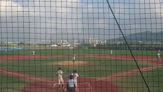 이평중학교vs인천상인중학교 이순신장군배 야구대회  마지…