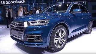Audi Q5 2017, Audi RS 3 sedan 2017, Audi S5 Sportback 2017 // Париж 2016 // АвтоВести Online(Новинки Audi на автосалоне в Париже: новый кроссовер Ку5, заряженный седан RS 3, а также новая версия модели..., 2016-10-05T08:40:54.000Z)