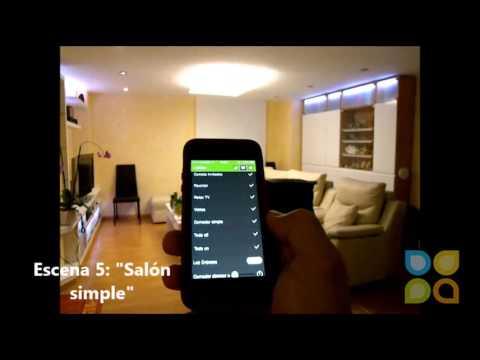 Dom tica control de la iluminaci n desde el smartphone for Control de iluminacion domotica