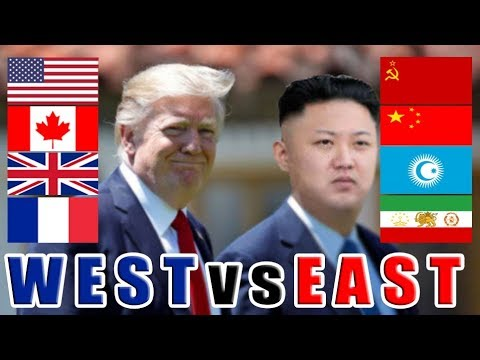WW3 | World War 3 Scenario West vs East Union (USA UK FRANCE vs SOVIET CHINA TURKIC PERSIAN)