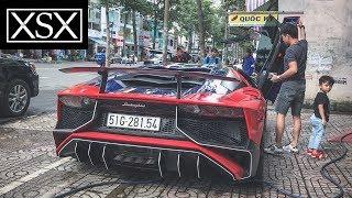 Minh Nhựa Chở Con Trai Trên Lamborghini Aventador 35 Tỷ Tăng Tốc Khủng Khiếp Như Thế Nào??? | XSX
