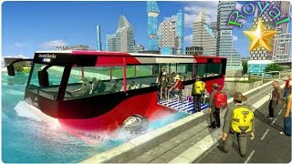 River bus service City tourist bus simulator android games full hd mobile