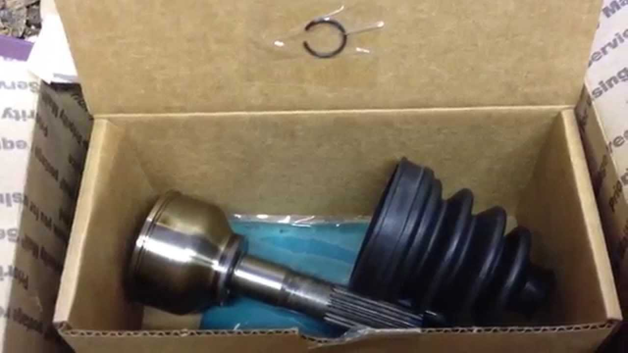 Replacement RTV900 CV joint arrived   YouTube