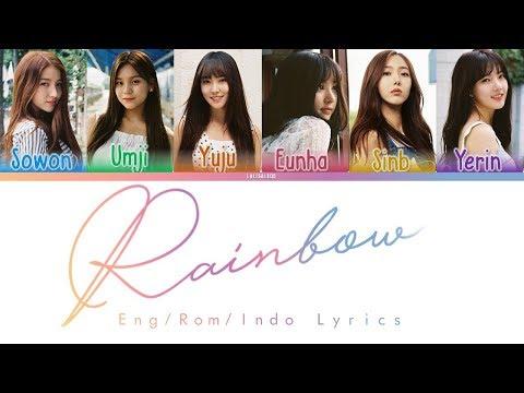 Gfriend - Rainbow Lyrics (INDOSUB)