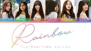 Video Gfriend - Rainbow Lyrics (INDOSUB) download MP3, 3GP, MP4, WEBM, AVI, FLV Juli 2018