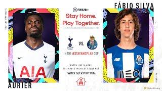 Baixar FIFA 20 | SERGE AURIER V FABIO SILVA | Spurs v FC Porto | #StayAndPlay Cup