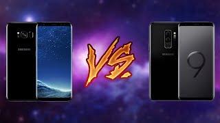 So sánh Galaxy S9/S9+ và Galaxy S8/S8+