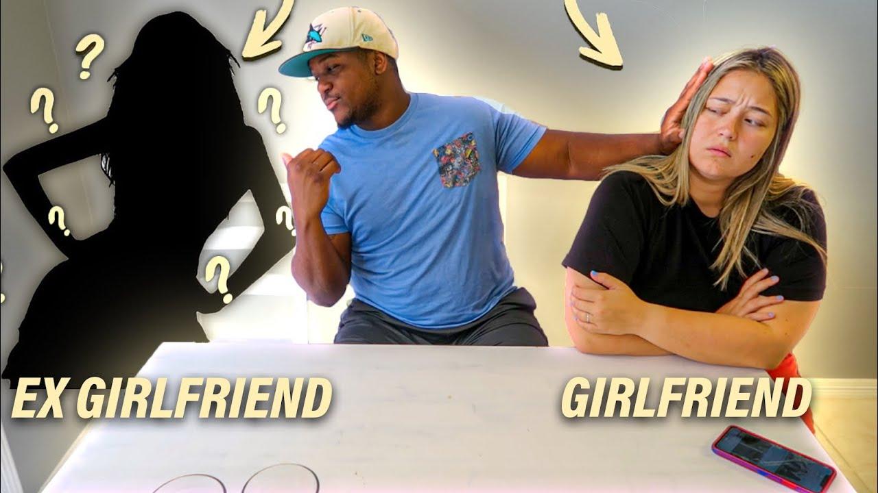 My Girlfriend vs My EX Girlfriend **bad idea**