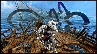 Assassin's Creed 3 - ТАЙНА МОРСКОГО ЧУДОВИЩА / ОХОТА НА ДРЕВНЕГО КРАКЕНА! (Квест с морским чудищем)