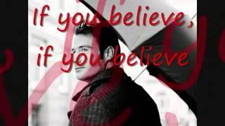 Sasha   If you believe Lyrics