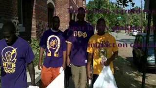 Omega Psi Phi Makes Positive Impact on the University of Tennessee Chattanoga Campus