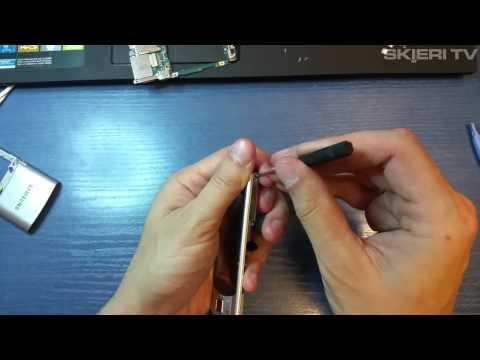 Samsung S7350 - wymiana taśmy - FLEX - disassembly