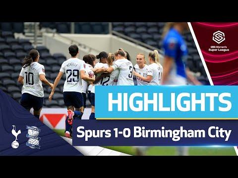 Kit Graham beauty gives Spurs Women a winning start!  HIGHLIGHTS |  SPURS 1-0 BIRMINGHAM