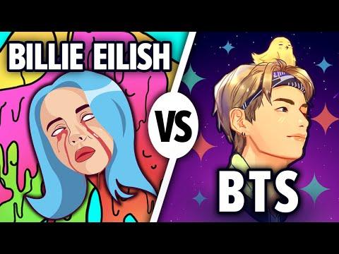 BTS или Билли Айлиш. Кто популярнее? Карьера, лучшие песни и мировое признание