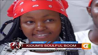 10 OVER 10  Kidum:I see artistes trying