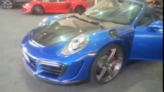 Essai Porsche 991 Turbo S GTR STINGER à Top Marques Monaco 2018