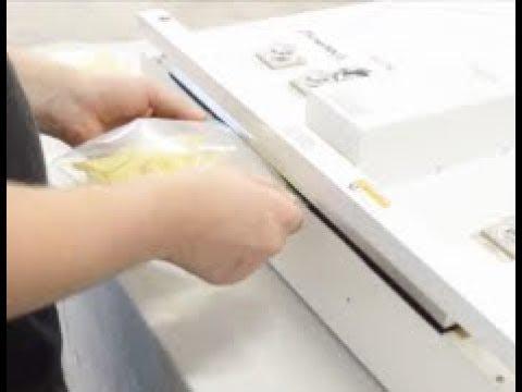 Nitrogen Purging Potato Chips