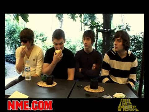 Arctic Monkeys Interview Old Trafford - July 2007